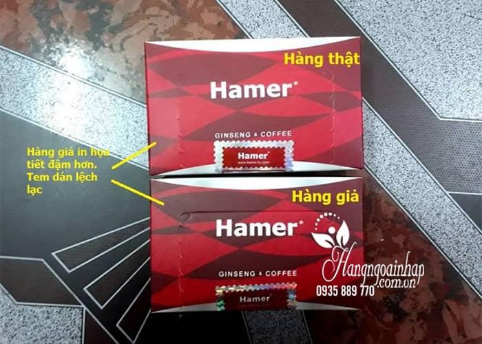 Kẹo sâm Hamer Ginseng & Coffee chính hãng Malaysia Hộp 30 cái 5