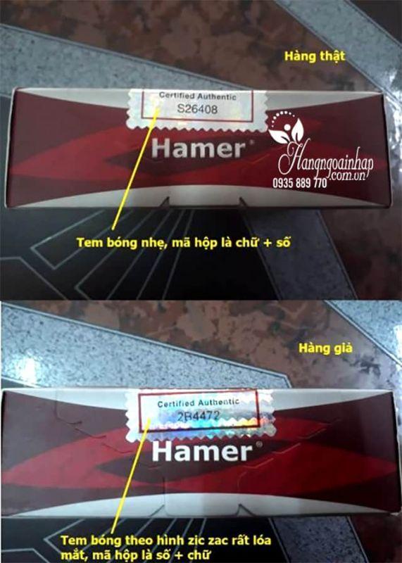 Kẹo sâm Hamer Ginseng & Coffee chính hãng Malaysia Hộp 30 cái 7