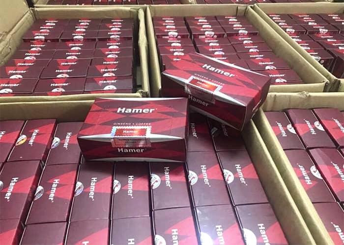 Kẹo sâm Hamer Ginseng & Coffee chính hãng Malaysia Hộp 30 cái 1