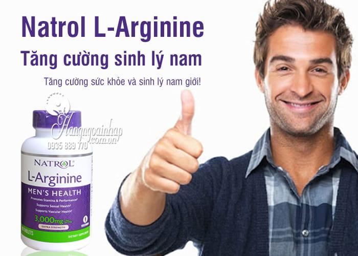 Natrol L-Arginine 3000mg 90 viên của Mỹ-Tăng cường sinh lý nam giới b1