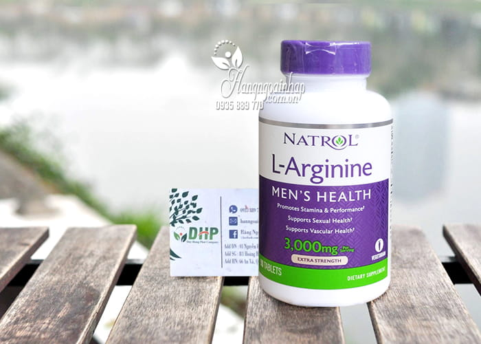 Natrol L-Arginine 3000mg 90 viên của Mỹ-Tăng cường sinh lý nam giới 9