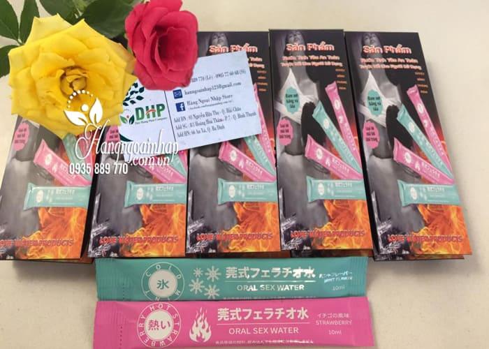 Nước tình yêu quan hệ đường miệng Oral Sex Water Nhật Bản 1