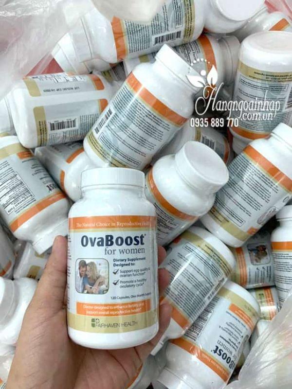 OvaBoost For Women 120 viên, tăng chức năng buồng trứng 7