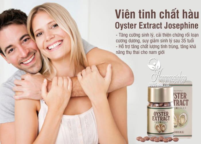 Viên tinh chất hàu Oyster Extract Josephine Nhật Bản 90 viên 6