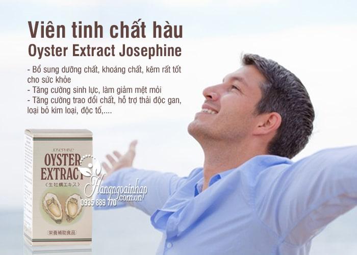 Viên tinh chất hàu Oyster Extract Josephine Nhật Bản 90 viên 1