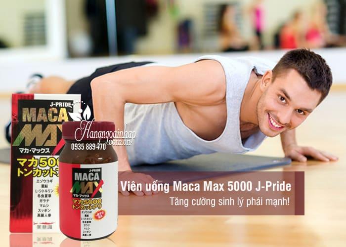 Viên uống Maca Max 5000 J-Pride Nhật Bản 84 viên 6