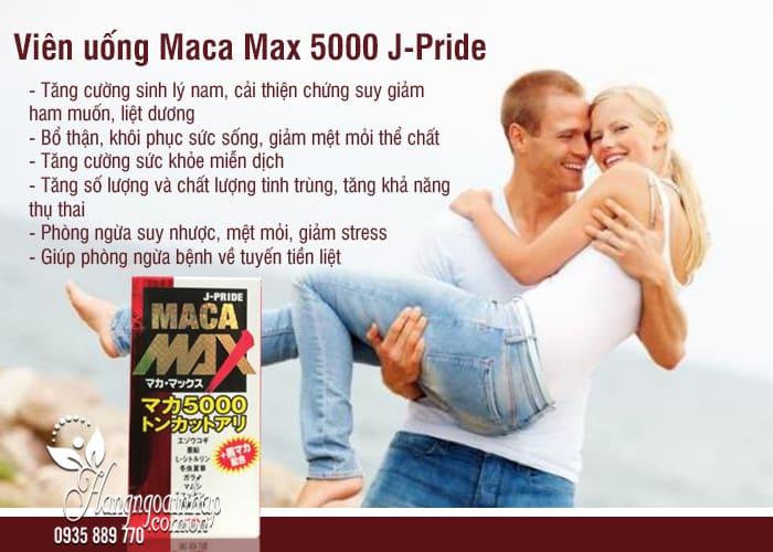 Viên uống Maca Max 5000 J-Pride Nhật Bản 84 viên 23