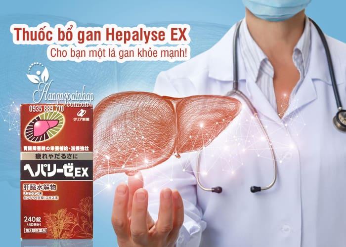 Thuốc bổ gan Hepalyse EX 240 viên mẫu mới của Nhật 8