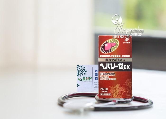 Thuốc bổ gan Hepalyse EX 240 viên mẫu mới của Nhật 1