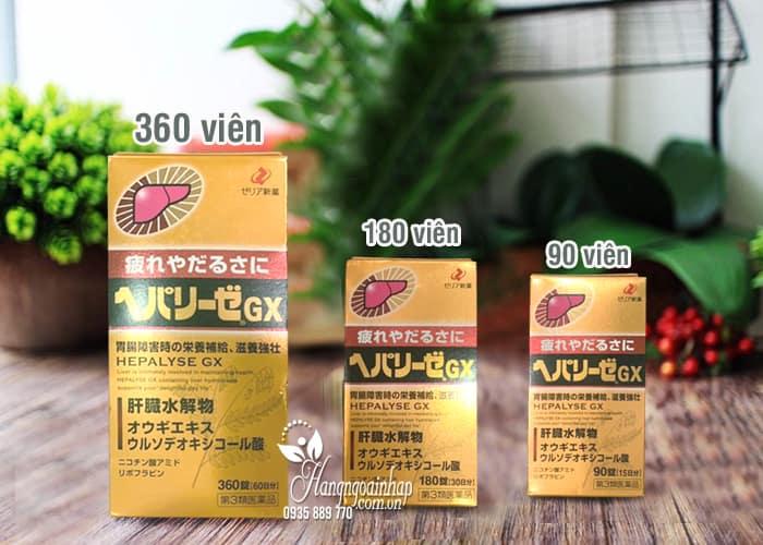 Viên uống bổ gan, giải độc gan Hepalyse GX của Nhật Bản 6