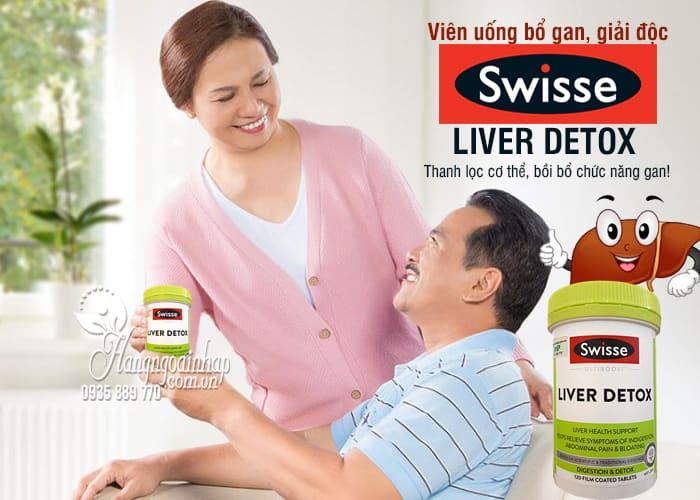 Viên uống bổ gan, giải độc - Swisse Liver Detox 120 viên của Úc 3