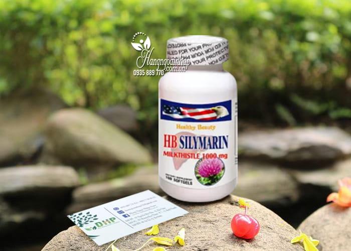 Viên uống bổ gan HB Silymarin Milk Thistle 1000mg của Mỹ 9