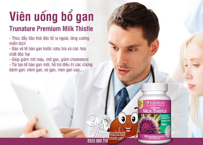 Viên uống bổ gan Trunature Premium Milk Thistle 120 viên 5