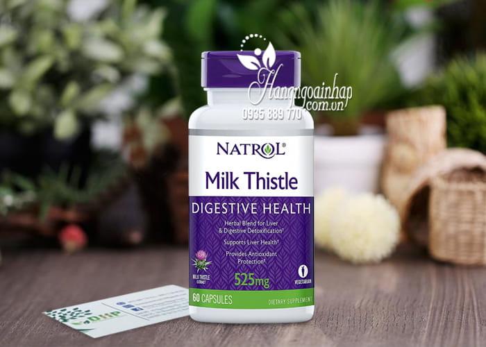 Viên uống giải độc gan Natrol Milk Thistle 525mg của Mỹ 7