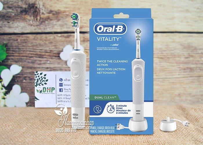 Bàn chải đánh răng điện Oral-B Vitality Dual Clean Mỹ 2