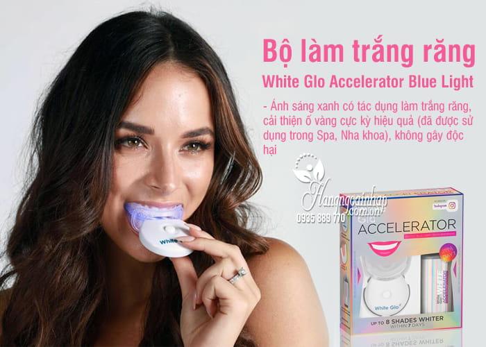 Bộ làm trắng răng White Glo Accelerator Blue Light của Úc 5