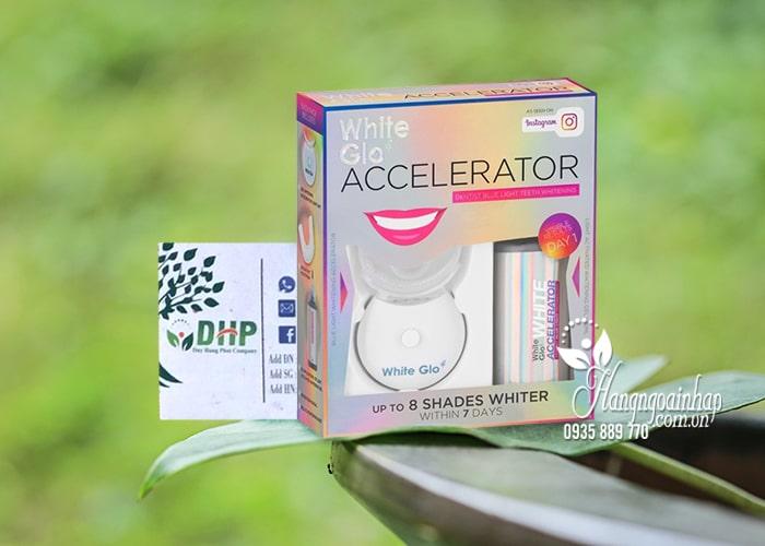 Bộ làm trắng răng White Glo Accelerator Blue Light của Úc 8