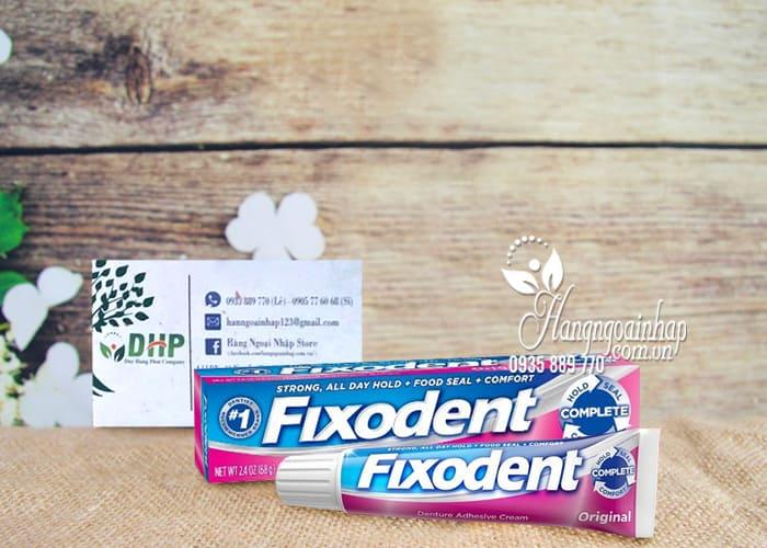 Keo dán hàm răng giả Fixodent Original 68g của Mỹ, giá tốt 2