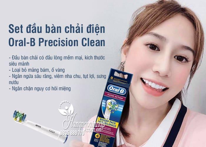 Set đầu bàn chải điện Oral-B Precision Clean - Dùng thay thế 5