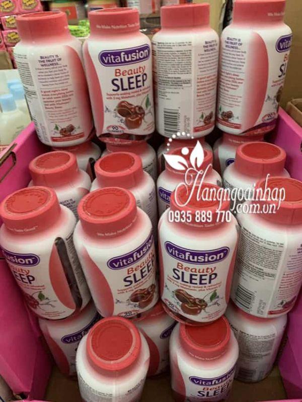Kẹo dẻo hỗ trợ ngủ ngon Vitafusion Beauty Sleep Gummies 90v 5