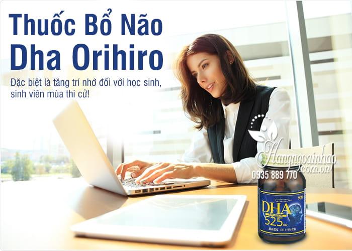 Thuốc Bổ Não Dha Orihiro 525mg 90 Viên chính hãng Của Nhật 1