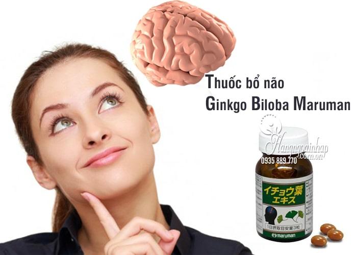 Thuốc bổ não Ginkgo Biloba Maruman tốt nhất của Nhật Bản 1