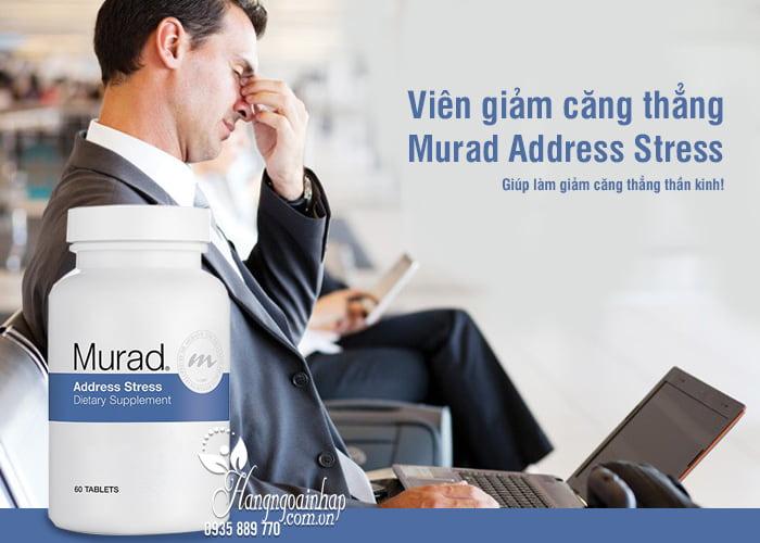 Viên giảm căng thẳng Murad Address Stress 60 viên của Mỹ 6