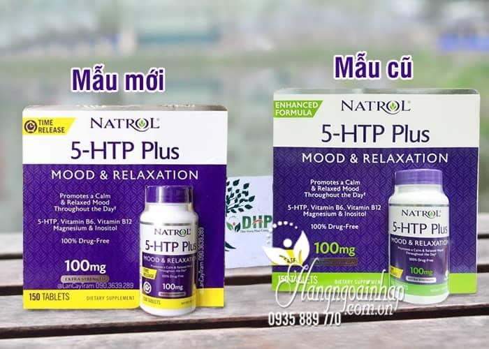 Viên hỗ trợ giảm căng thẳng Natrol 5-HTP Mood & Relaxation 10