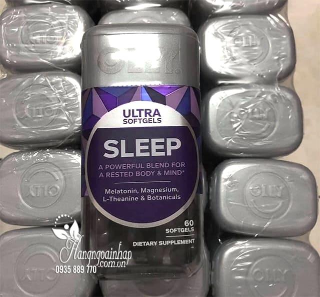 Viên kẹo dẻo ngủ ngon Olly Ultra Sleep 60 viên chính hãng Mỹ 8