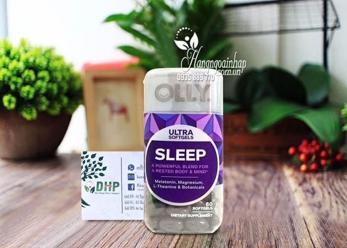 Viên kẹo dẻo ngủ ngon Olly Ultra Sleep 60 viên chính hãng Mỹ 3