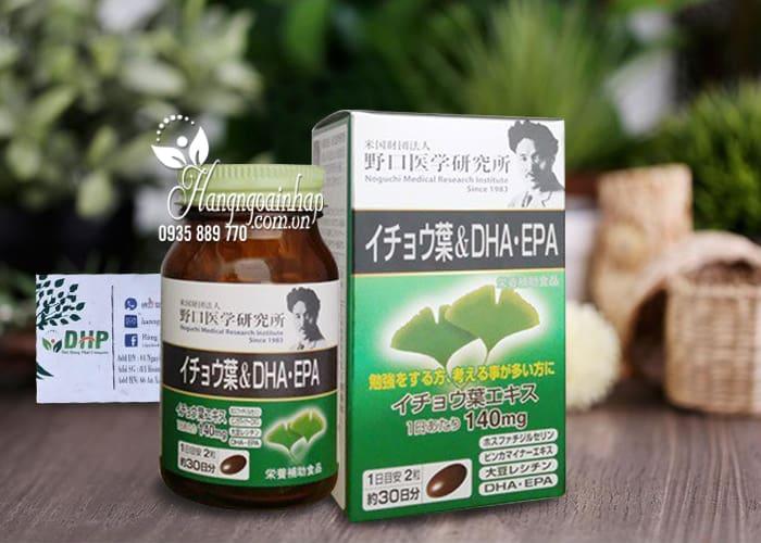 Viên uống bổ não DHA EPA Ginkgo Noguchi 60 viên của Nhật Bản 7