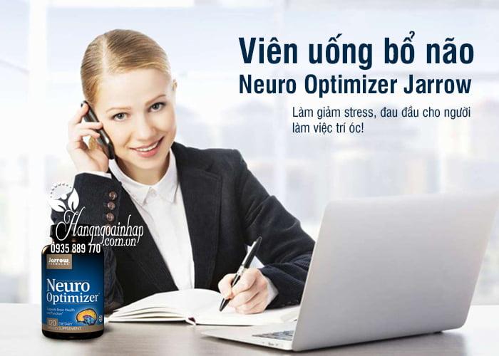 Viên uống bổ não Neuro Optimizer Jarrow 120 viên của Mỹ 1