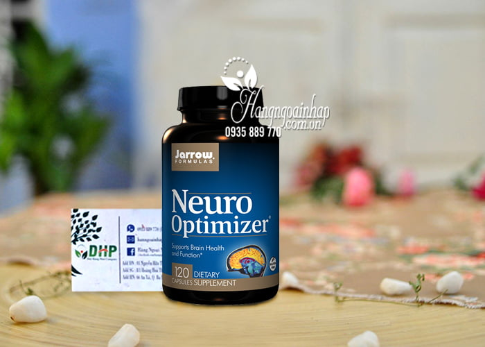 Viên uống bổ não Neuro Optimizer Jarrow 120 viên của Mỹ 8