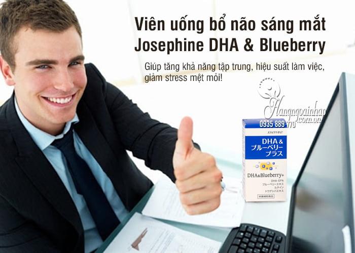 Viên uống bổ não sáng mắt Josephine DHA & Blueberry 90 viên