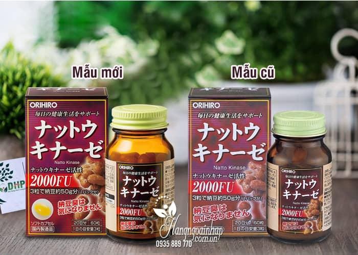 Viên uống hỗ trợ điều trị tai biến Nattokinase 2000FU Orihiro Nhật 8