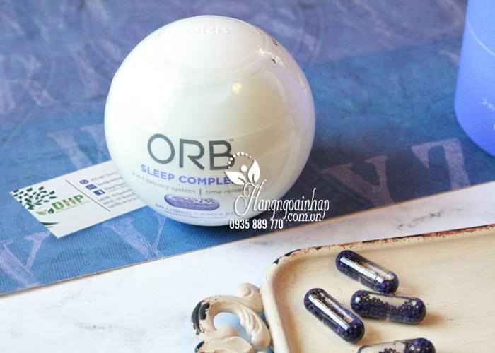 Viên uống hỗ trợ giấc ngủ ORB Sleep Complex chính hãng Mỹ 1
