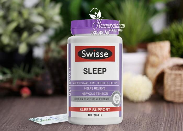 Viên uống hỗ trợ ngủ ngon Swisse Sleep 100 viên Úc, giá tốt 4