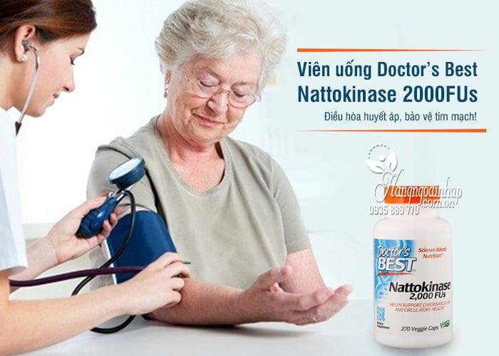 Viên uống Nattokinase 2000FUs Doctor's Best của Mỹ 4