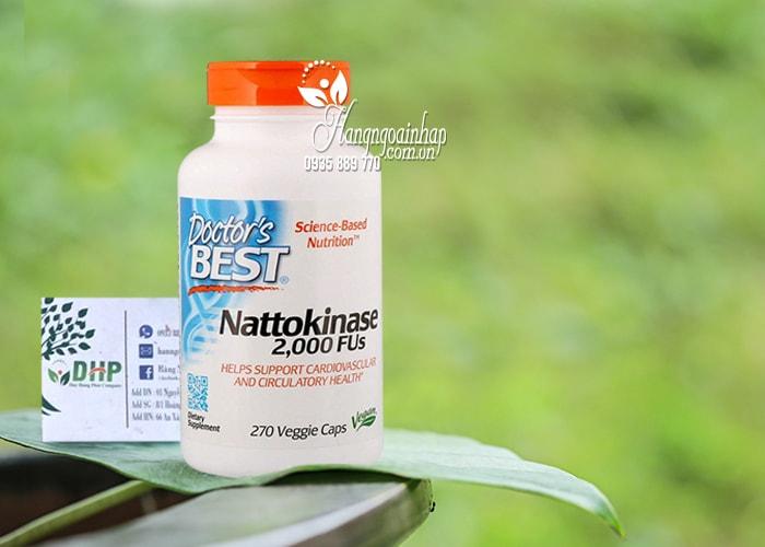 Viên uống Nattokinase 2000FUs Doctor's Best của Mỹ 1