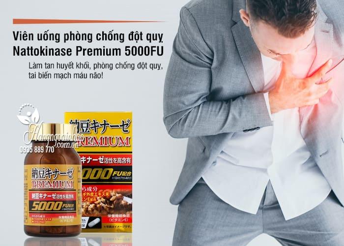 Viên uống phòng chống đột quỵ Nattokinase Premium 5000FU 4