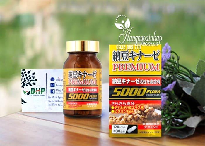 Viên uống phòng chống đột quỵ Nattokinase Premium 5000FU 1