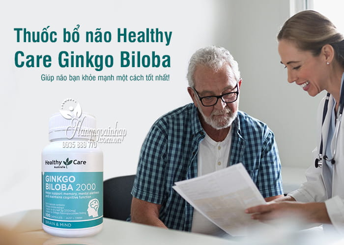 Thuốc bổ não Healthy Care Ginkgo Biloba 2000mg 100 viên của Úc 7