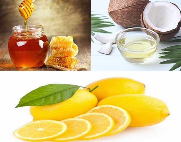 Cách làm siro dầu dừa, mật ong, chanh trị ho cho trẻ em
