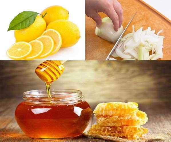 3. Cách làm siro chanh, hành tây, mật ong trị ho cho bé trên 1 tuổi