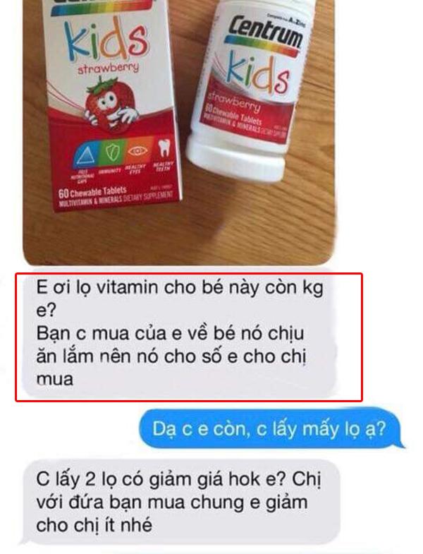 Viên uống vitamin tổng hợp Centrum Kids Strawberry review từ khách hàng