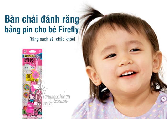 Bàn chải đánh răng bằng pin cho bé Firefly của Mỹ 1