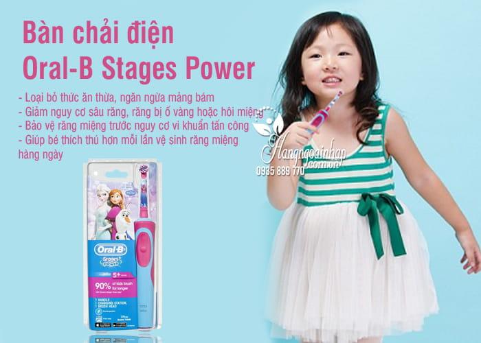 Bàn chải điện Oral-B Stages Power của Đức cho bé trai, gái 7