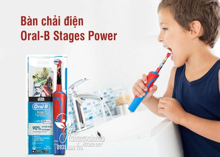 Bàn chải điện Oral-B Stages Power của Đức cho bé trai, gái 1
