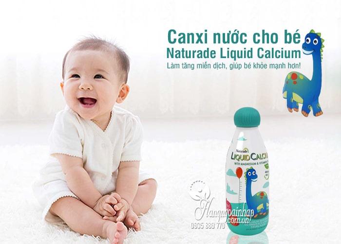 Canxi nước cho bé Naturade Liquid Calcium 474ml chính hãng Mỹ 1