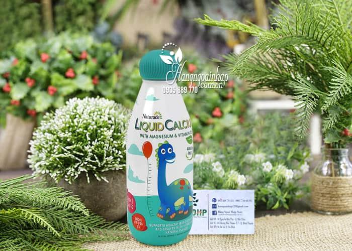 Canxi nước cho bé Naturade Liquid Calcium 474ml chính hãng Mỹ 7